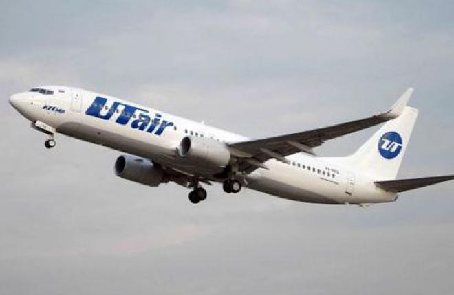 """Авиакомпания """"ЮТэйр"""" увеличила количество перевезенных пассажиров на 26%"""
