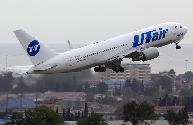 """Самолет Boeing 767-200ER авиакомпании """"ЮТэйр"""""""