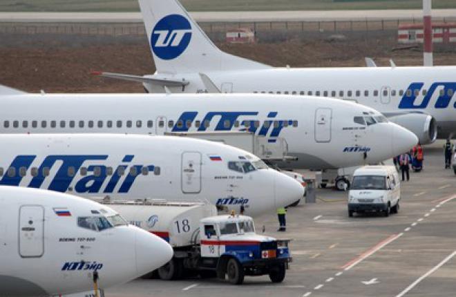 """Пассажиропоток авиакомпаний группы """"ЮТэйр"""" в январе возрос на 42,8% :: ЮТэйр"""