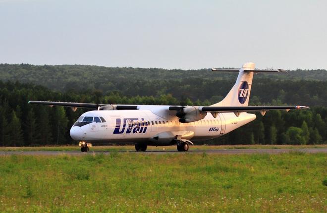 турбовинтовой региональный самолет ATR 72-500 авиакомпании