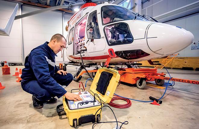 Техцентр татарстанской авиакомпании активно развивает ТО вертолетов «Ансат» // Фото: «ЮВТ-Аэро»