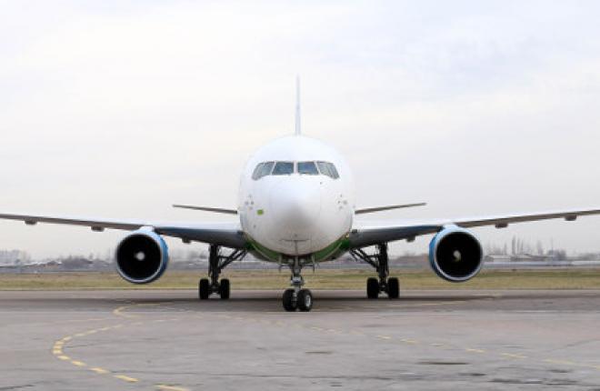 Uzbekistan Airways получила второй грузовой самолет Boeing 767