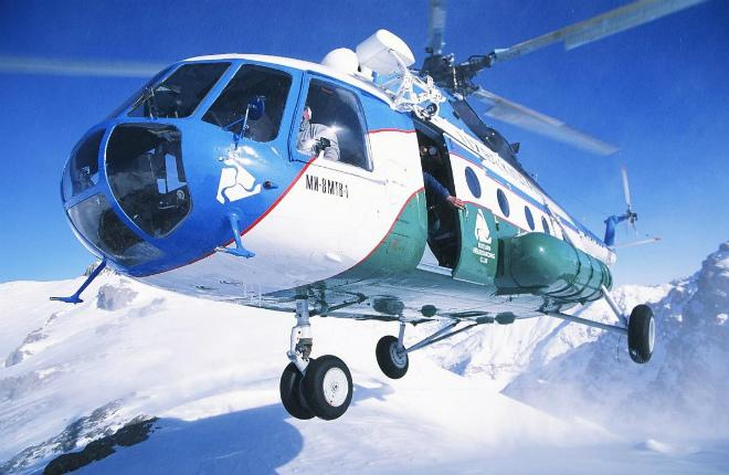 Вертолет Ми-8 авиакомпании Uzbekistan Helicopters