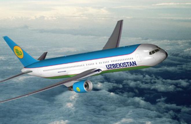 Авиакомпания Uzbekistan Airways получила новый самолет Boeing 767-300ER