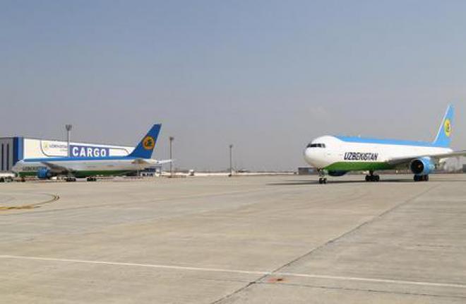 Авиакомпания Uzbekistan Airways приступила к полетам на грузовых самолеах Boeing 767-300BCF из аэропорта Навои