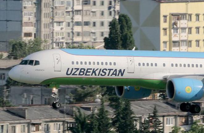"""Авиакомпания """"Узбекистон хаво йуллари"""" заменила устаревшие советские самолеты"""