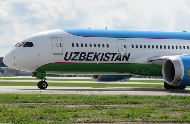 Самолет Boeing 787 Dreamliner в московском аэропорту Внуково