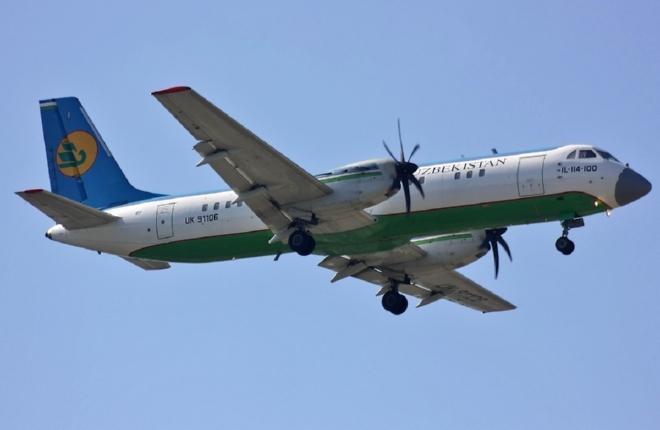 Авиакомпания Uzbekistan Airways нагрузит покупателя самолетов Ил-114-100 тренажером