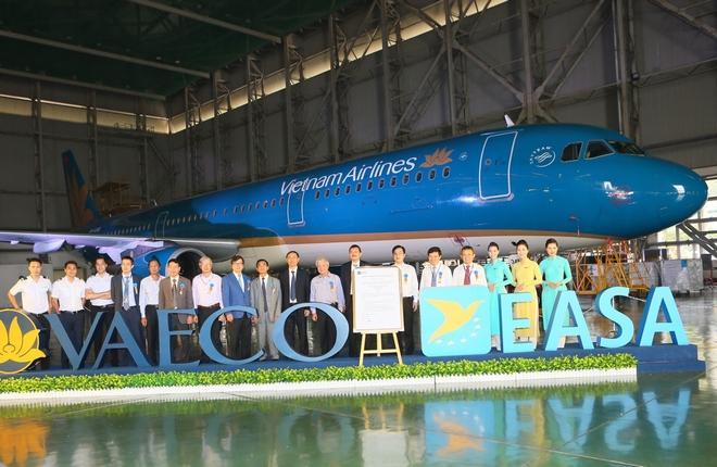 Подразделение ТОиР Vietnam Airlines сертифицировано EASA