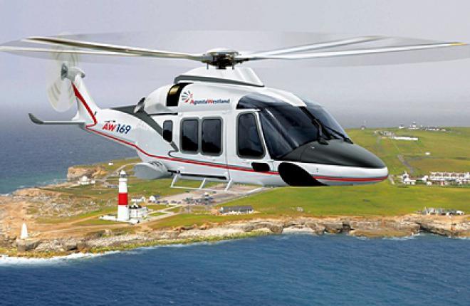 Первый экземпляр 4,5-тонного вертолета AgustaWestland AW169 будет поставлен зака