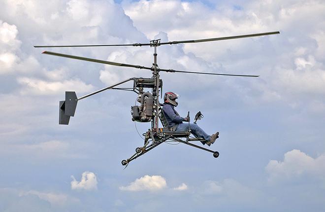 По заверению разработчика, регистрация вертолета Микрон не требуется