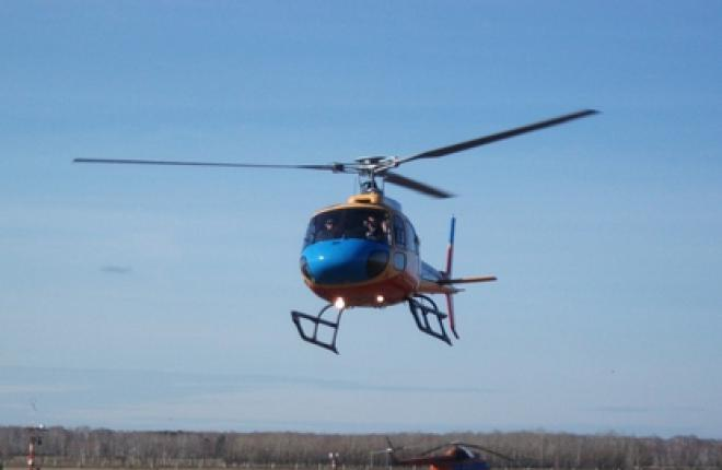 Eurocopter Vostok поставил два вертолета AS350 B2 омскому авиационному колледжу