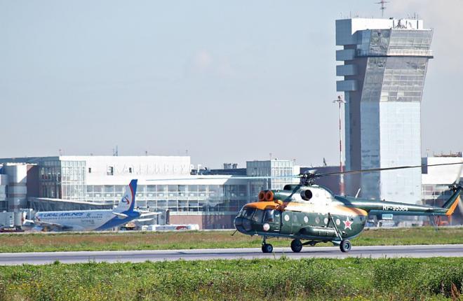 Пропускную способность Кольцово увеличили за счет вертолетных площадок