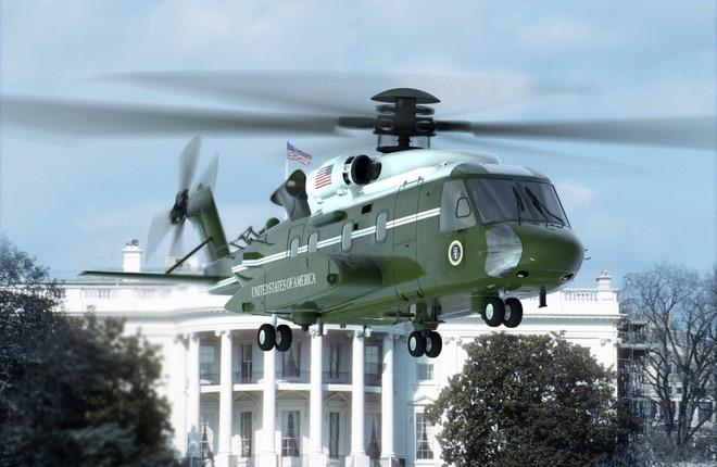 В США начались летные испытания президентского вертолета
