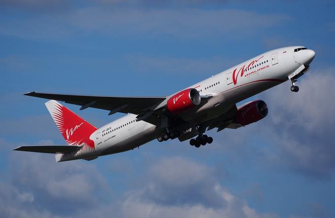 """Самолет Boeing 777 авиакомпании """"ВИМ-авиа"""""""