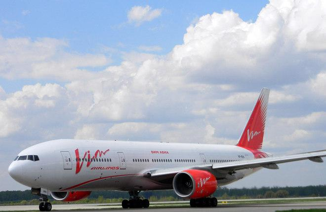 "Самолет Boeing 777-200ER авиакомпании ""ВИМ-авиа"""