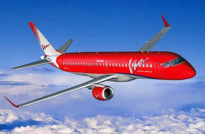 """Авиакомпания """"ВИМ-Авиа"""" отложила покупку самолетов Embraer E195"""