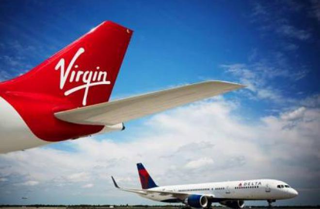 Авиакомпании Virgin Atlantic и Delta Air Lines согласовали расписание трансатлан