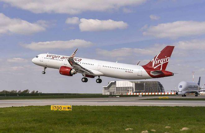 Airbus поставил первый самолет A321neo