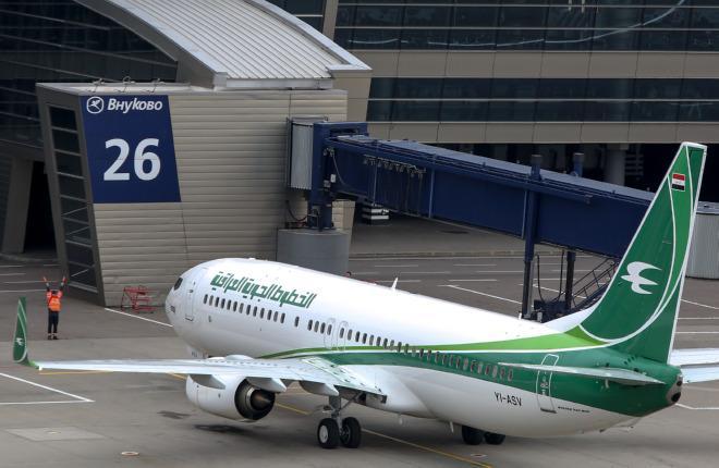 Самолет Iraqi Airways прилетел во Внуково