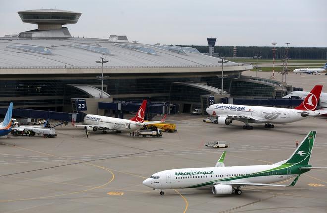 Московские аэропорты сохранили двузначные темпы роста