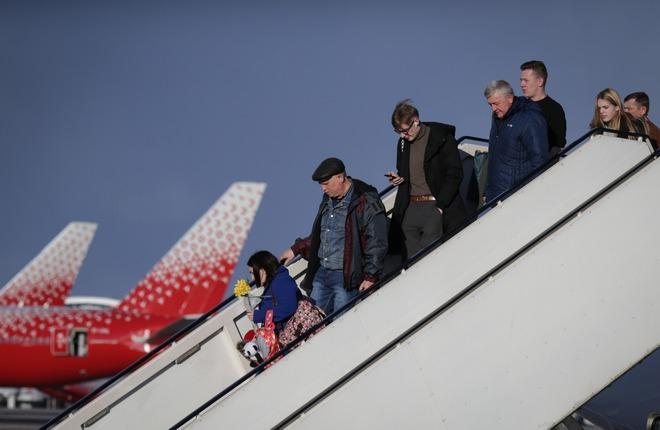 пассажиры России