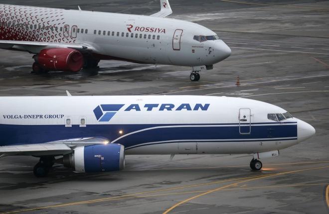 "Boeing 737-400F ""Атран"""