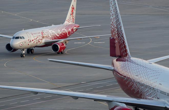 """Авиакомпания """"Россия"""" освоит тяжелое техобслуживание Airbus A320"""