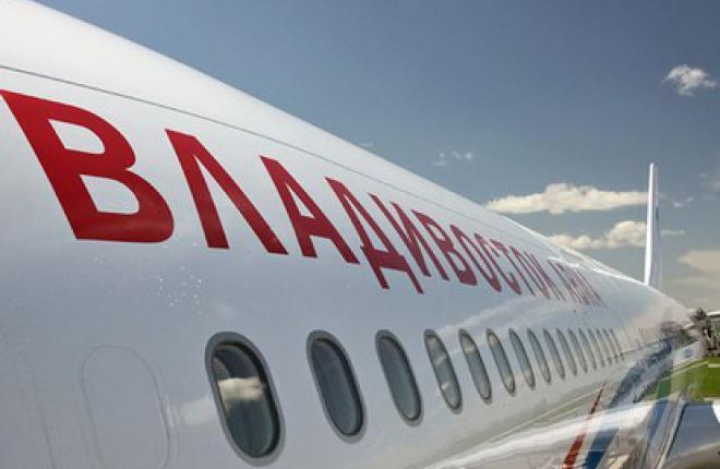 """Перевозки """"Владивосток Авиа"""" выросли на 5%"""