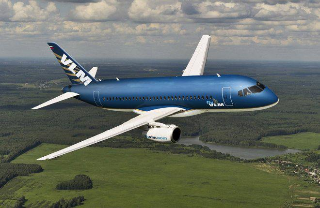 Авиакомпания VLM Airlines отказалась от заказа на Superjet 100