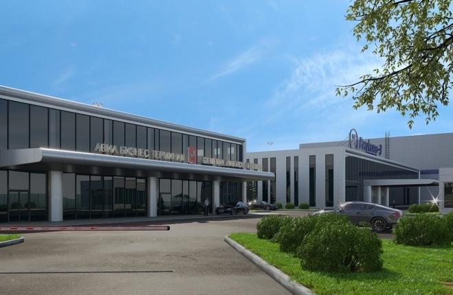 Проект нового терминала внутренних линий во Внуково-3