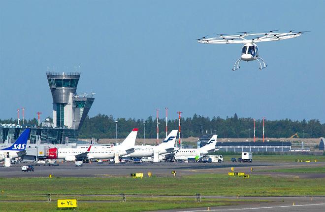 Volocopter испытания