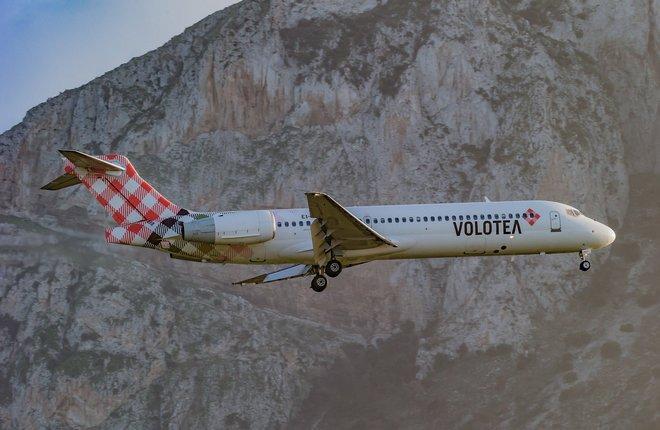 самолет Boeing 717-200 авиакомпании Volotea