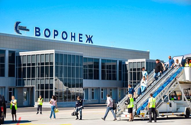 Терминал воронежского аэропорта Чертовицкое