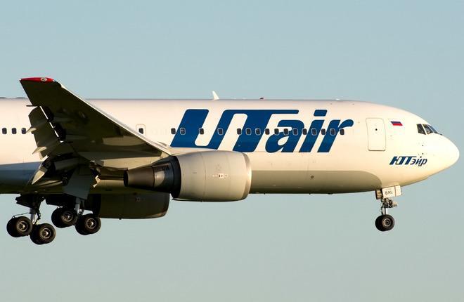 """Самолет B-767-200ER авиакомпании """"ЮТэйр"""""""