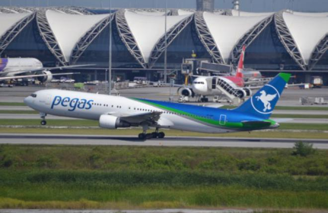 В карте полетов авиакомпании Pegas Fly появятся внутренние авиарейсы