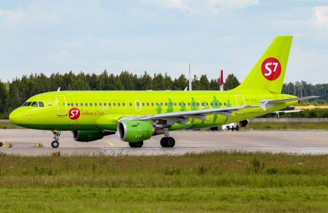 Самолет А319 S7 Airlines