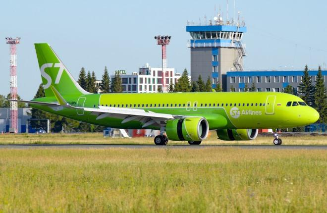 Самолет A320neo S7 Airlines