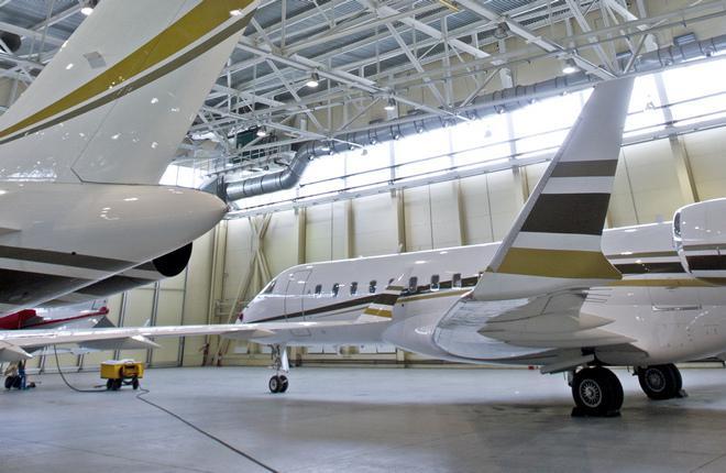 Ангар компании VTS Jets