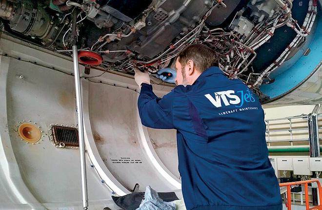 Подготовка компании к базовому ТО бизнес-джетов займет 2–2,5 года :: VTS Jets