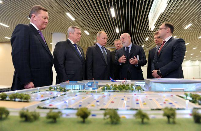 Виктор Вексельберг на встрече с Владимиром Путиным