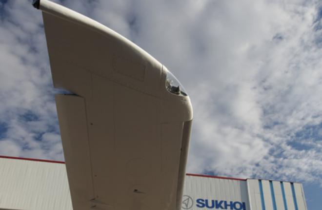 До конца года опытный образец Sukhoi Superjet 100 получит законцовки крыла