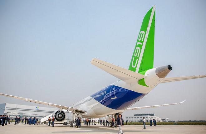 Китайский самолет C919 получит облегченное крыло
