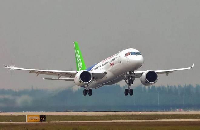 Портфель заказов на китайский самолет С919 вырос до 600 ВС