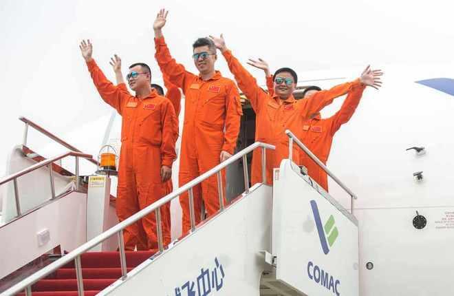 Летный экипаж COMAC C919
