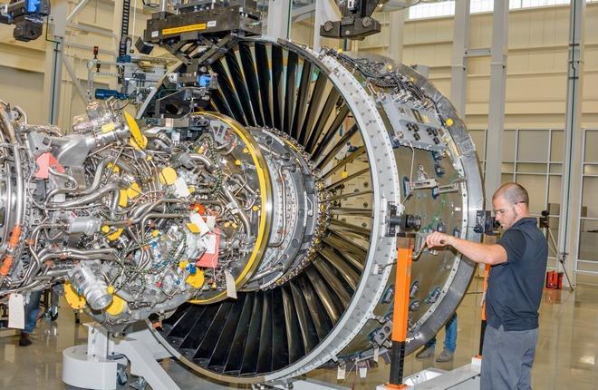 Двигатель PW1100G-JM
