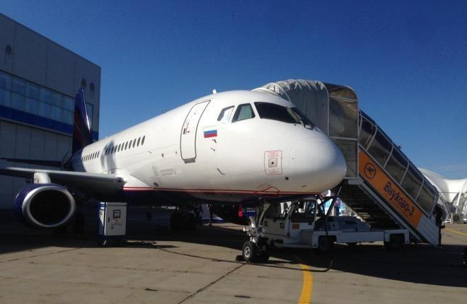 "Sukhoi Business Jet авиакомпании ""РусДжет"""