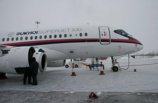 Первым получателем гарантий остаточной стоимости на SSJ 100 стала CityJet