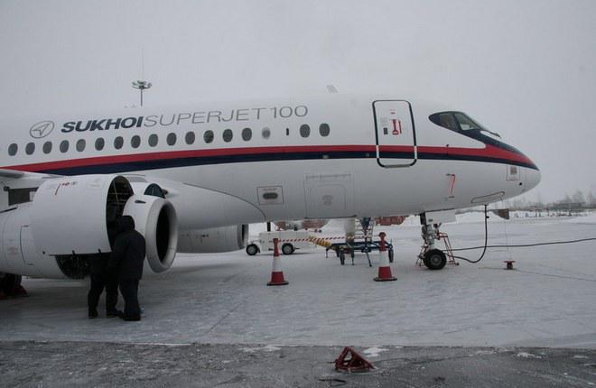 В 2015 году клиентам поставили 25 самолетов SSJ 100