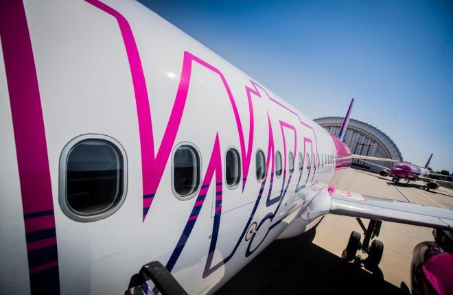 A320 низкотарифной авиакомпании Wizz Air